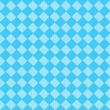 Diagonalny błękitny bezszwowy tkaniny tekstury wzór Fotografia Royalty Free