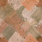 Diagonalny bezszwowy wzór z grunge paskował kwadratowych elementy Zdjęcie Stock
