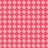 Diagonalny czerwony bezszwowy tkaniny tekstury wzór Fotografia Stock