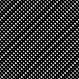 Diagonalny halftone kropkuje wektorowego bezszwowego wzór Okrąża teksturę royalty ilustracja