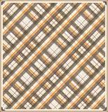 Diagonalny szkockiej kraty tła wzór Fotografia Stock