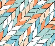 Diagonalny tło wzór warkocze Niekończący się elegancka tekstura ilustracji