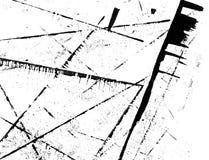 Diagonalsvartlinjer abstrakt grungetextur Royaltyfria Bilder