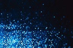 Diagonalt av försilvra sparlkes på svart bakgrund arkivfoto