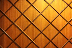 diagonalt remsaväggträ Royaltyfri Bild