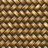 diagonalu koszykowy weave Fotografia Stock