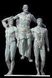 Diagoras, estatua clásica griega de la era fotos de archivo