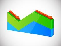 Diagram Royalty-vrije Stock Afbeeldingen
