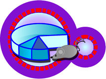 Diagram. School icon - vector illustration vector illustration