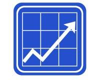 diagram Fotografering för Bildbyråer
