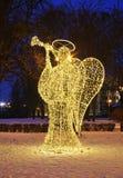 Diagram av ängeln i Torun poland royaltyfri fotografi