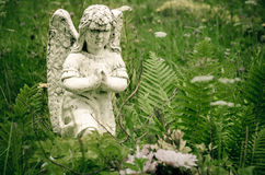 Diagram av en ängel royaltyfri bild