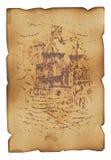 Diagram av shipen royaltyfri bild