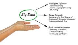 Diagram of big data. Presenting Diagram of big data Stock Photography