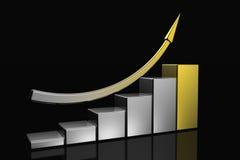 Diagram of business success Stock Photo
