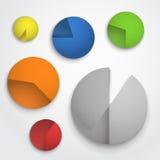 Diagram collection Stock Photos