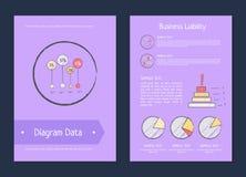Diagram Data Business Liability Analysis Methods Royalty Free Stock Photo