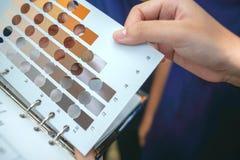 Diagram för fast färg för utbildning Royaltyfria Foton