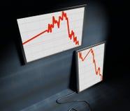 Diagram finance royalty free stock photos
