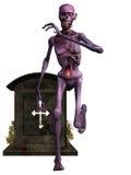 diagram halloween zombie royaltyfri illustrationer