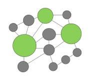 Diagram l'illustration, espace vide pour le contenu, affaires, diagramme Photographie stock