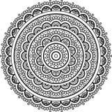 Diagram mandala för Royaltyfria Bilder