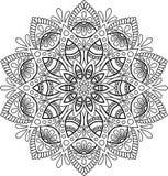 Diagram mandala för Royaltyfri Foto