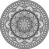 Diagram mandala för att färga Royaltyfri Bild