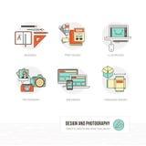 Diagram och rengöringsdukdesign stock illustrationer