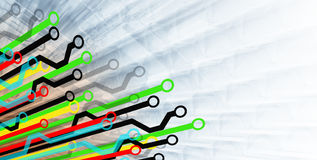 Diagram Paths Stock Image
