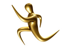 diagram running sport för symbol Arkivfoton