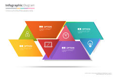 Diagram Template, Organization chart template. flow template, bl Stock Images
