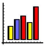 Diagram (Vector) Royalty Free Stock Photos