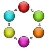 Diagrama ilustração do vetor