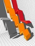 Diagrama Imagem de Stock