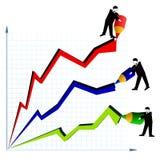 Diagrama Fotos de Stock Royalty Free