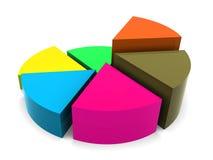 Diagrama. Imagem de Stock