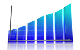 diagrama 3d Foto de Stock