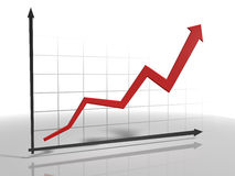 diagrama 3d Imagem de Stock Royalty Free
