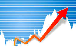 diagrama biznesowy sukces ilustracji