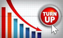diagrama biznesowy wektor Fotografia Stock