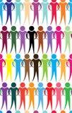 Diagrama de la gente del equipo del negocio Fotografía de archivo libre de regalías