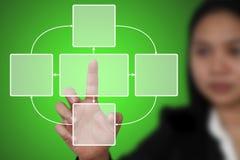 Diagrama del ciclo vital Imagenes de archivo