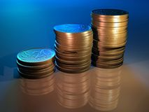 Diagrama del dinero Foto de archivo