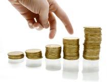 Diagrama del dinero fotografía de archivo libre de regalías