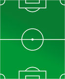 Diagrama del estadio de fútbol Fotografía de archivo