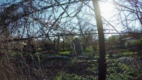 Diagrama del jardín de la cerca metrajes