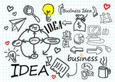 Diagrama del símbolo del icono de la idea del vector del negocio Imágenes de archivo libres de regalías