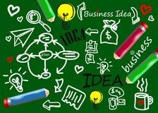Diagrama del símbolo del icono de la idea del vector del negocio Fotos de archivo libres de regalías