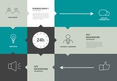 Diagrama del speechflat de Infographics con los campos del texto libre illustration